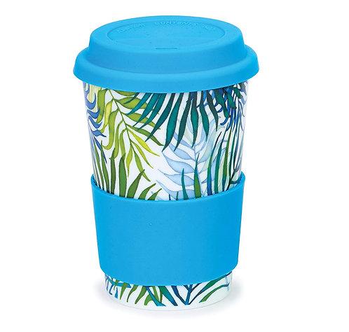 Orinoco Palm Travel Mug- Dunoon fine English bone china