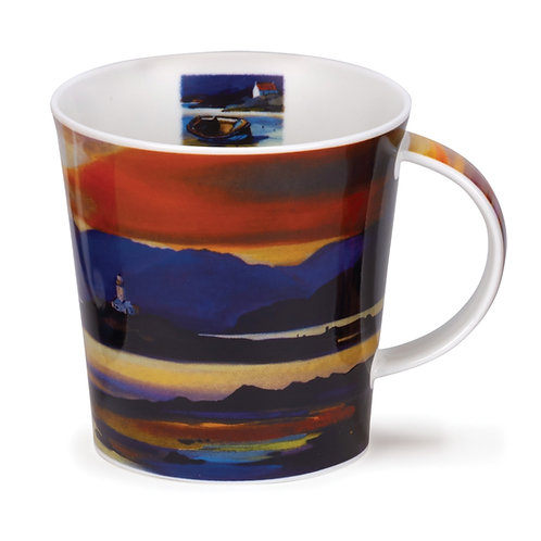 Cairngorm Red Sky - Lighthouse - Dunoon fine English bone china