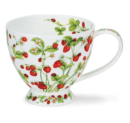 Skye Wild Strawberries - Dunoon fine English bone china