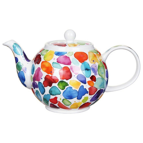 Blobs Teapot- Dunoon fine English bone china