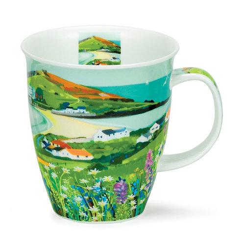 Nevis Sea View - Island Coffee and Tea Mug- Dunoon fine English bone china