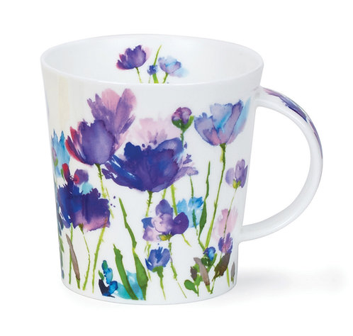 Lomond Beau Jardin - Purple - Dunoon fine English bone china