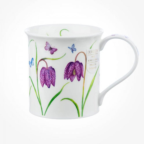 Bute Beau Jardin - Fritillaries - Coffee and Tea Mug- Dunoon fine English bone china