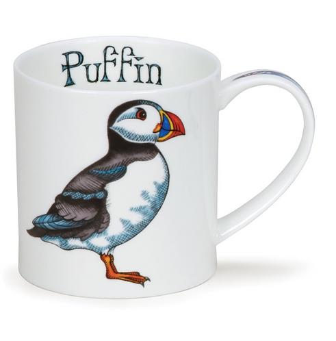 Orkney Puffin Coffee and Tea Mug- Dunoon fine English bone china