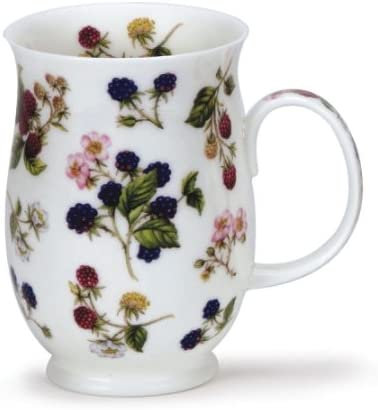Suffolk Wild Fruits - Blackberries - Dunoon fine English bone china