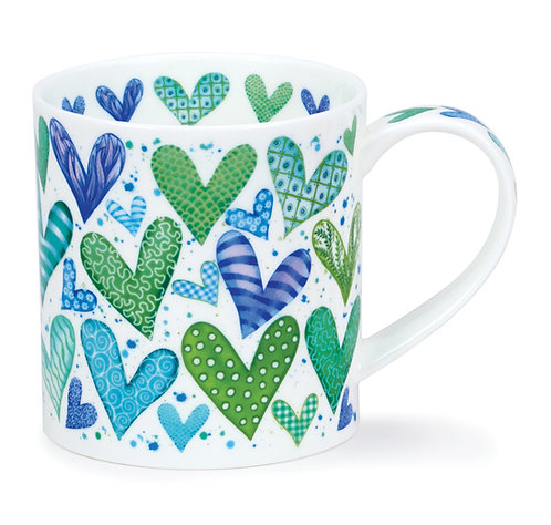 Orkney With Love - Green - Dunoon fine English bone china