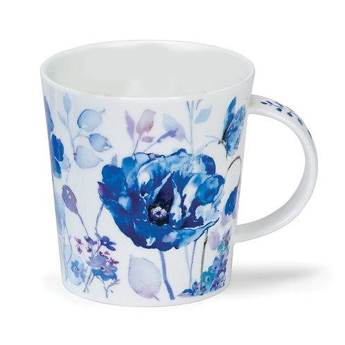 Lomond Blue Haze - Closed Butterfly - Dunoon fine English bone china
