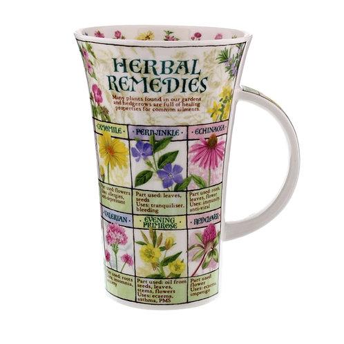 Glencoe Herbal Remedies - Dunoon fine English bone china