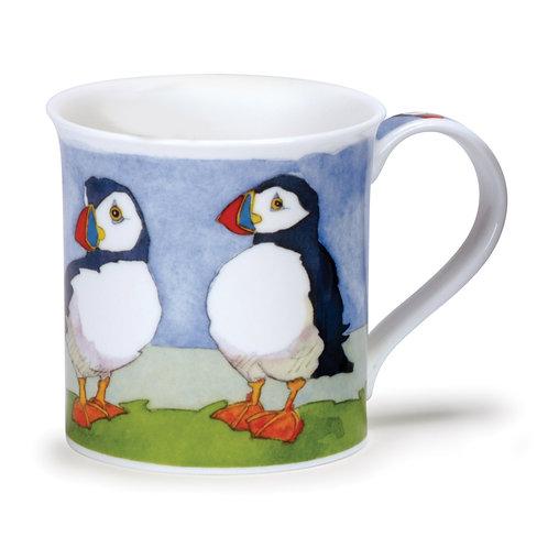 Bute Seabirds - Puffin - Dunoon fine English bone china