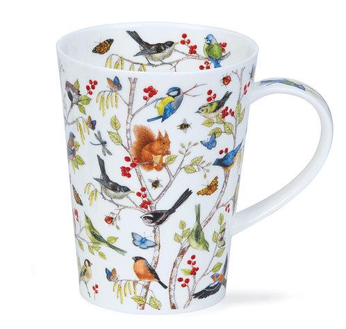 Shetland Secret Wood Coffee and Tea Mug- Dunoon fine English bone china