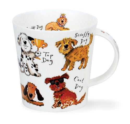 Cairngorm A Dog's Life- Dunoon fine English bone china
