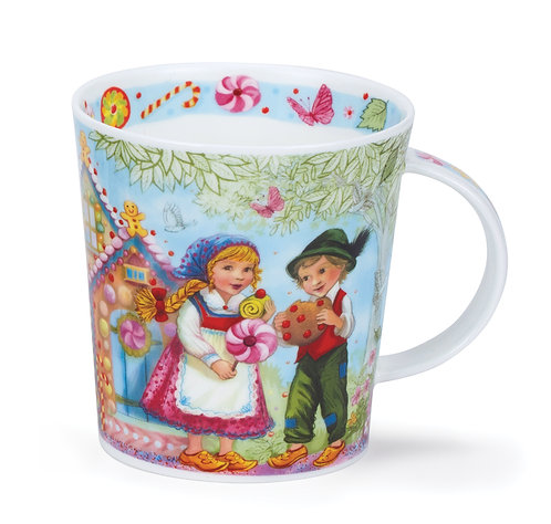 Lomond Fairy Tales II- Hansel & Gretel - Dunoon fine English bone china