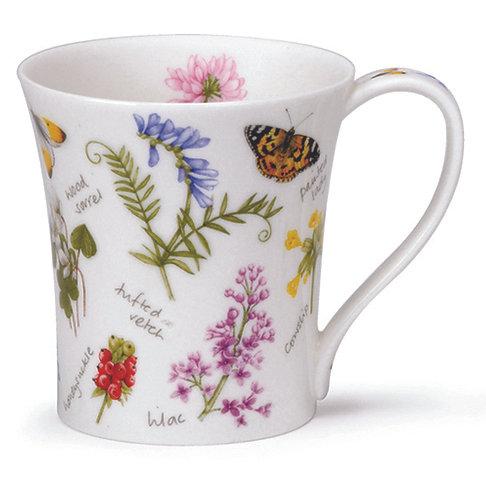 Jura Wayside Vetch Coffee and Tea Mug- Dunoon fine English bone china