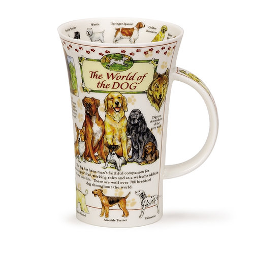 Glencoe World of the Dog - Dunoon fine English bone china
