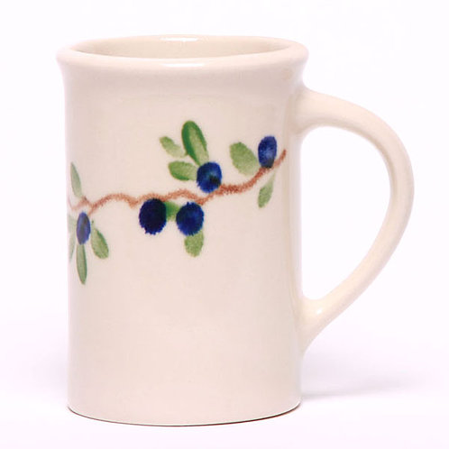 Handpainted Pottery Mug - Teacup Collection