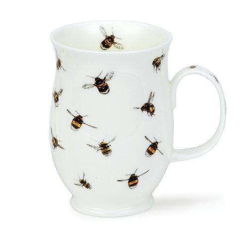 Suffolk Bugs- Bumbling Bee - Coffee and Tea Mug- Dunoon fine English bone china