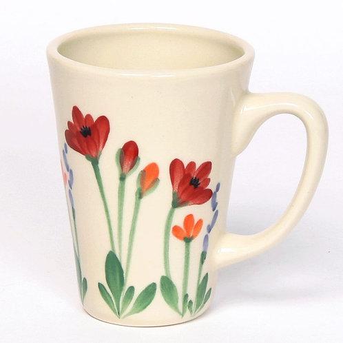 Pottery Latte Mug