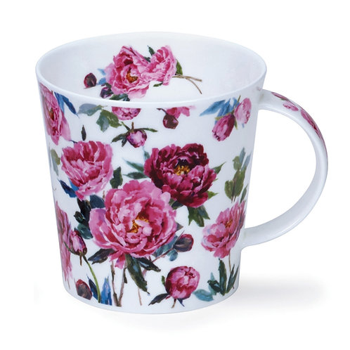 Cairngorm Cottage Blooms Peony- Dunoon fine English bone china
