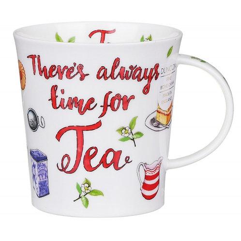 Lomond Tea Slogans Coffee and Tea Mug- Dunoon fine English bone china