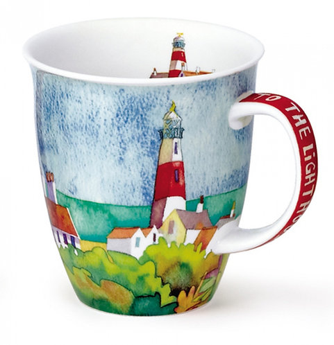 Nevis By the Coast - Lighthouse - Dunoon fine English bone china