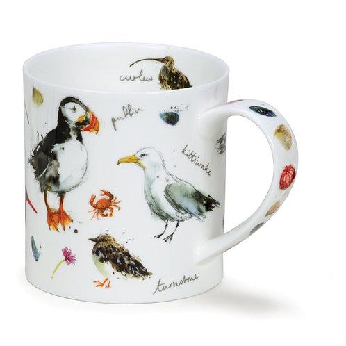 Orkney Coastal Birds - Dunoon fine English bone china