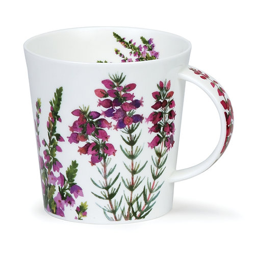 Cairngorm Scottish Heathers  Coffee and Tea Mug- Dunoon fine English bone china