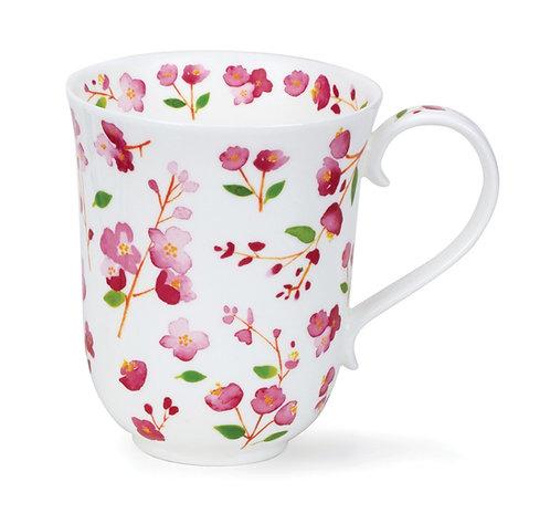 Braemar Petit Fleurs Pink - Dunoon fine English bone china