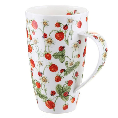 Henley Dovedale Strawberries - Dunoon fine English bone china