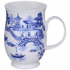 Suffolk Oriental Blue - Bridge - Dunoon fine English bone china