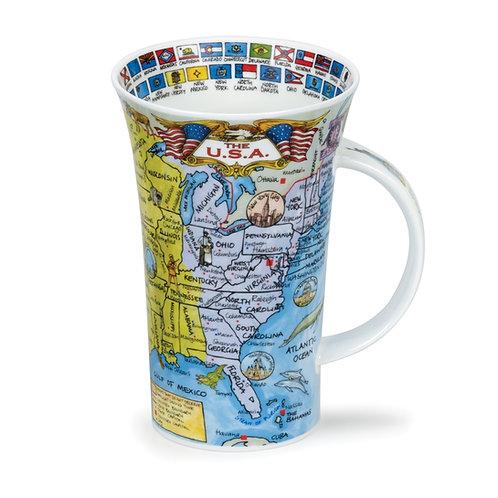 Glencoe The U.S.A. - Dunoon fine English bone china