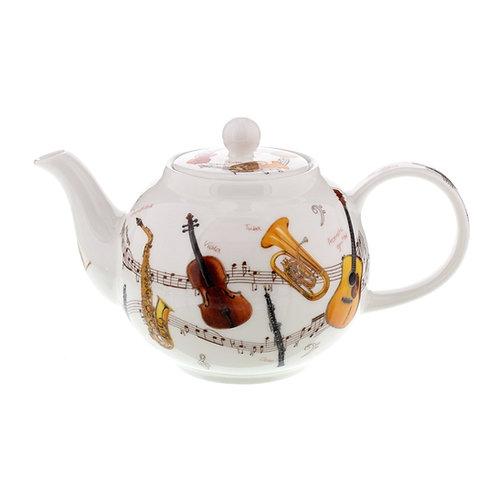 Instrumental Teapot - Dunoon fine English bone china