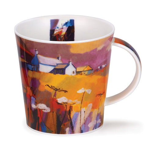 Cairngorm Red Skies - Croft - Dunoon fine English bone china
