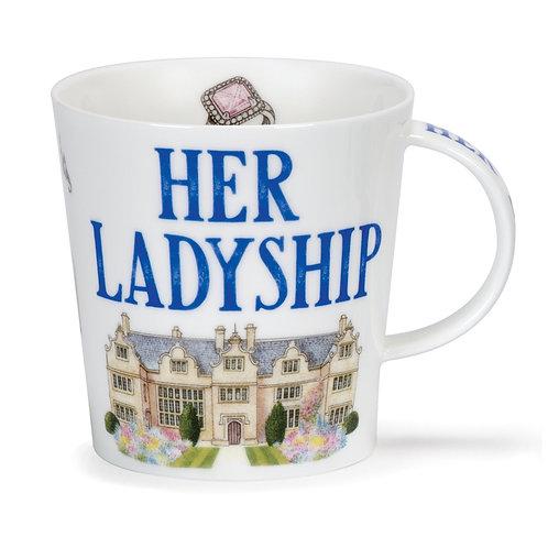 Cairngorm Her Ladyship Coffee and Tea Mug- Dunoon fine English bone china
