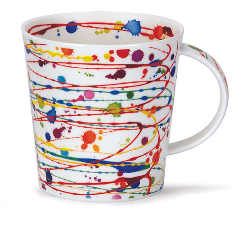 Cairngorm Cottage Drizzle Yellow- Dunoon fine English bone china