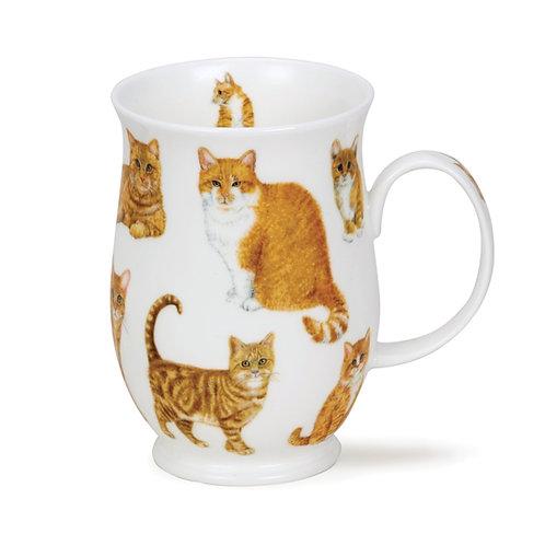 Suffolk Cats- Ginger - Dunoon fine English bone china