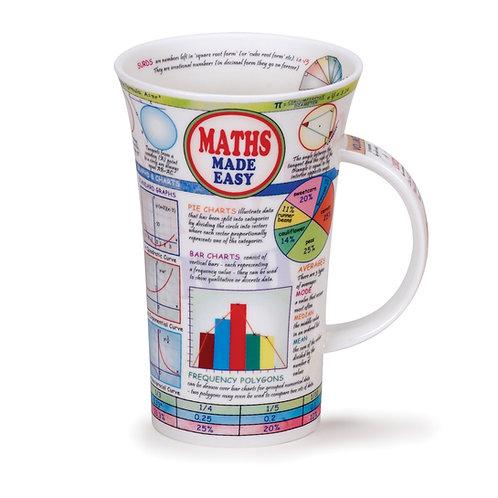 Glencoe Maths Made Easy Coffee and Tea Mug- Dunoon fine English bone china