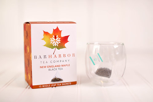 New England Maple Black Teabags