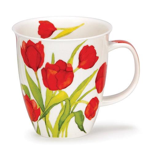 Nevis Flora - Tulip - Dunoon fine English bone china