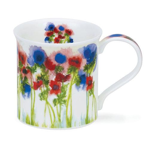 Bute Floral Haze – Anemone - Dunoon fine English bone china