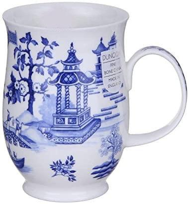 Suffolk Oriental Blue - Gazebo - Dunoon fine English bone china
