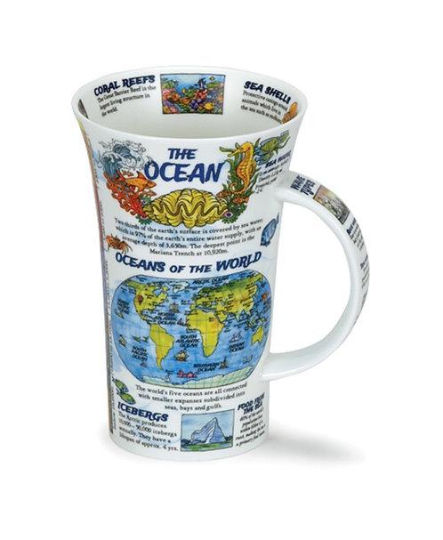 Glencoe The Ocean Coffee and Tea Mug- Dunoon fine English bone china