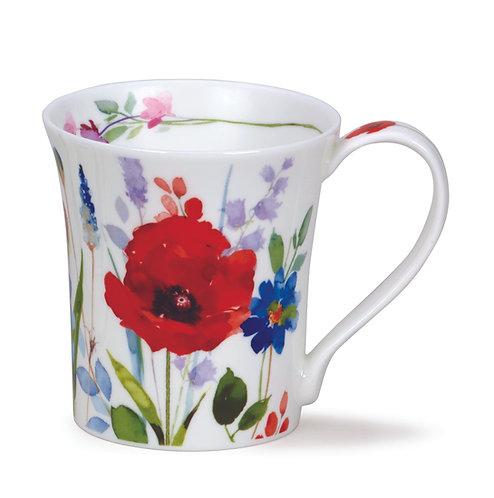 Jura Wild Garden - Poppy - Dunoon fine English bone china