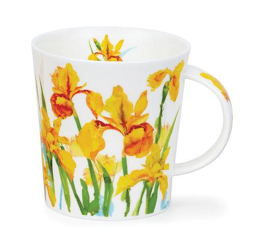 Lomond Beau Jardin - Yellow - Dunoon fine English bone china