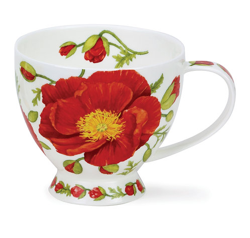 Skye Papaver- Dunoon fine English bone china