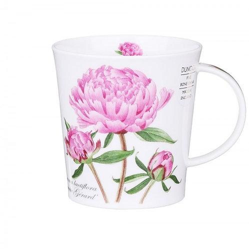 Lomond Botanica - Peony- Coffee and Tea Mug- Dunoon fine English bone china