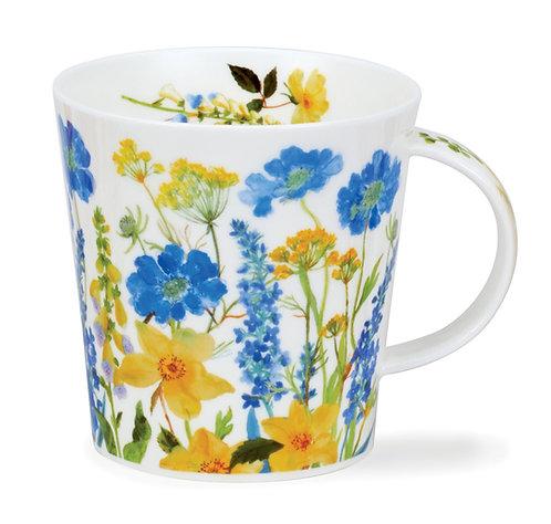 Cairngorm Cottage Border Blue- Dunoon fine English bone china
