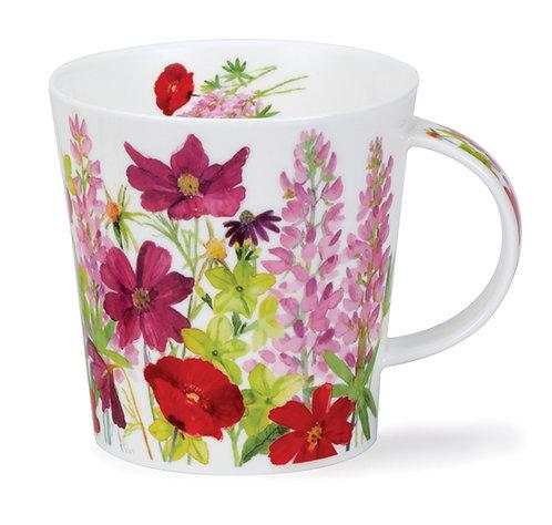 Cairngorm Cottage Border Pink- Dunoon fine English bone china