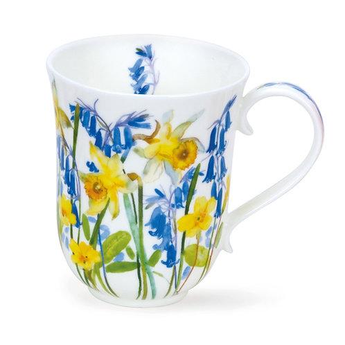Braemar Cottage Flowers – Yellow - Dunoon fine English bone china