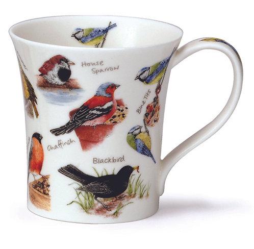Jura Birdlife - Blue Tit- Coffee and Tea Mug- Dunoon fine English bone china
