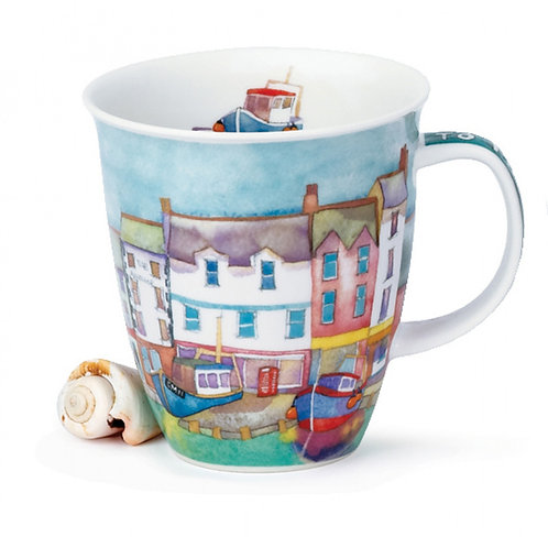 Nevis By the Coast - Harbor - Dunoon fine English bone china